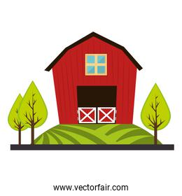 exterior house isolated icon