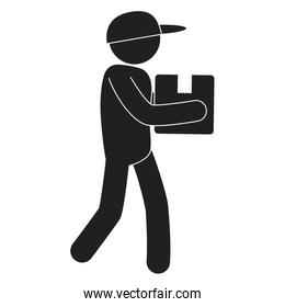 delivery service worker avatar