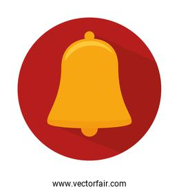 bell alarm isolated icon