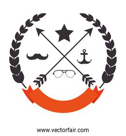seal style hipster icon