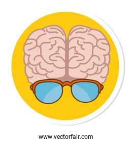 brain storming isolated icon