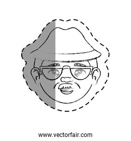 grandfather avatar character icon