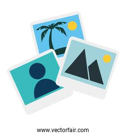 pictures files isolated icon
