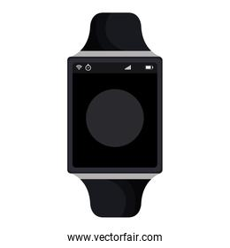 time smartwatch atch isolated icon