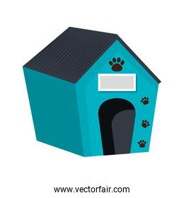pet wooden house icon