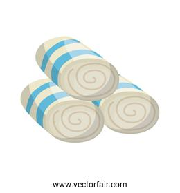 set towels spa icon