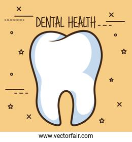 healthy tooth dental care icon