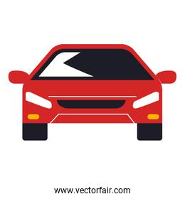 car sedan front vehicle icon