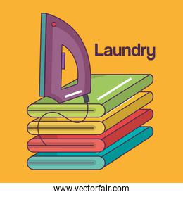 iron clothes electric laundry service