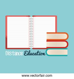 on line education with notebooks