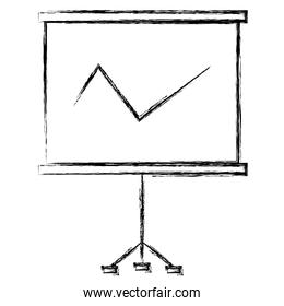 paperboard training isolated icon