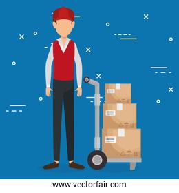 worker logistic service avatar