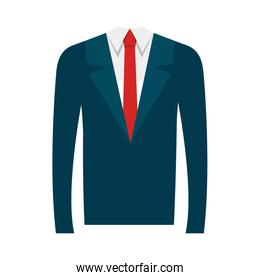 businessman suit isolated icon