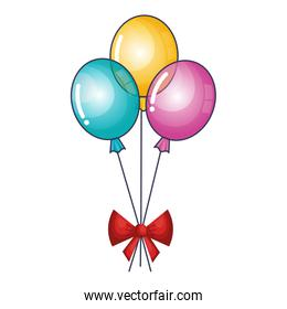 balloon air party icon