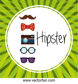 set accessories style hipster