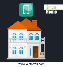smart house with tablet service