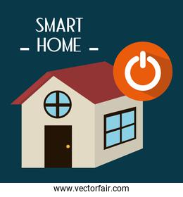 smart house with power button service