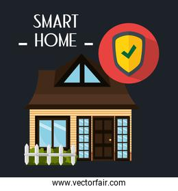 smart house with shield security service
