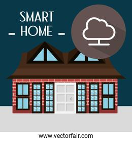 smart house with cloud computing service