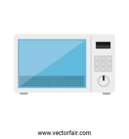 oven microwave isolated icon