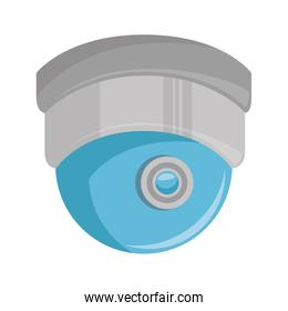 dome security cam isolated icon
