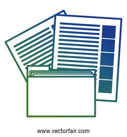 file folder with documents