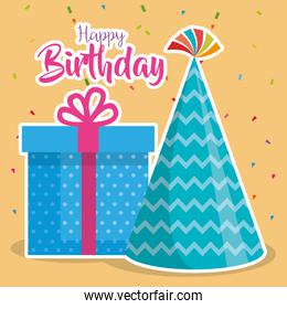 birthday card with gift