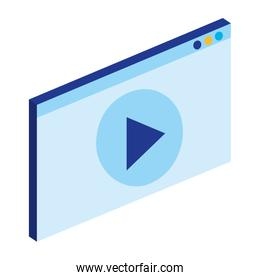media player interface icon