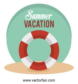 summer vacations with float