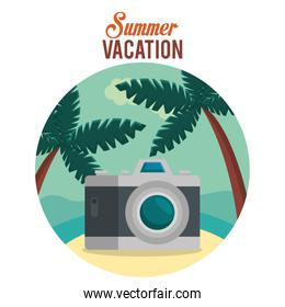 summer vacations with camera photographic