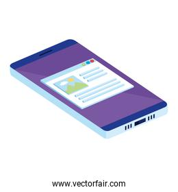 phone device with template