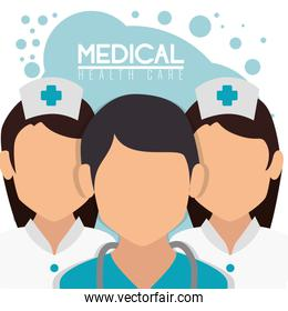 medical staff professional characters