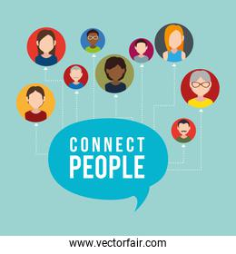 community with connect people