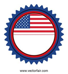 united states of america emblematic seal