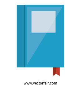 text book isolated icon
