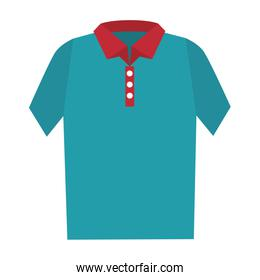 t-shirt male isolated icon