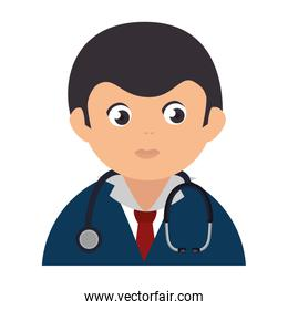 Male doctor avatar character