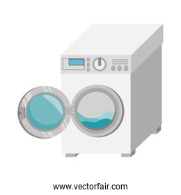 washer machine isolated icon