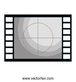 tape film record isolated icon
