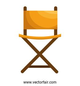 director chair isolated icon