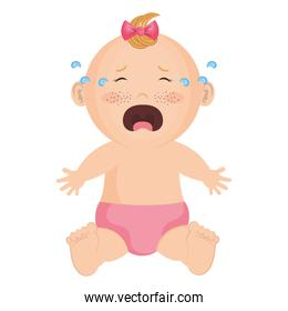Baby clothes crying