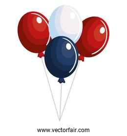 balloons air party independence day