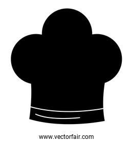 chef hat isolated icon