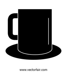 coffee mug isolated icon