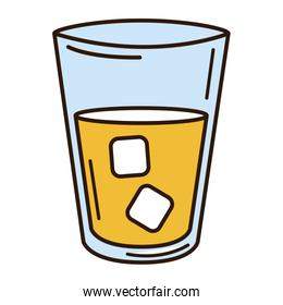 water glass isolated icon