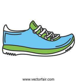 sport shoes tennis icon