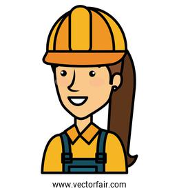 constructor woman avatar character