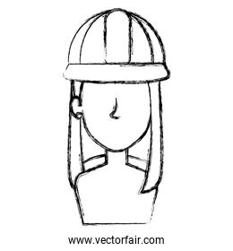 constructor woman shirtless avatar character
