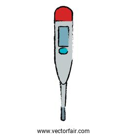 thermometer medical isolated icon