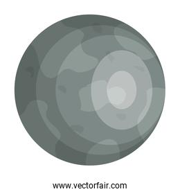 mercury planet isolated icon